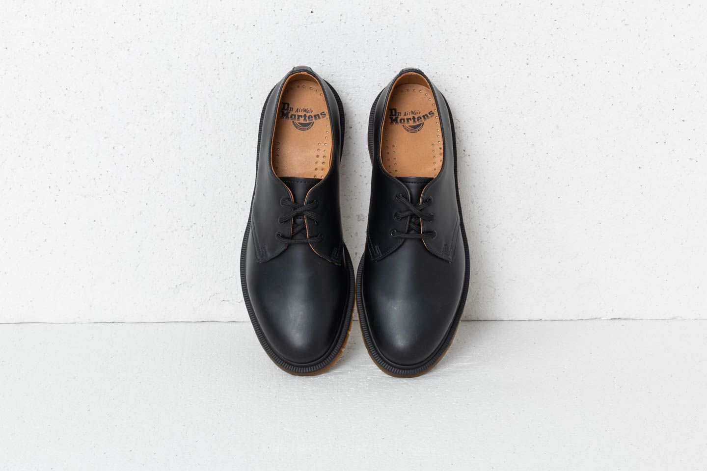 shoes Dr. Martens 1461 PW Smooth Black