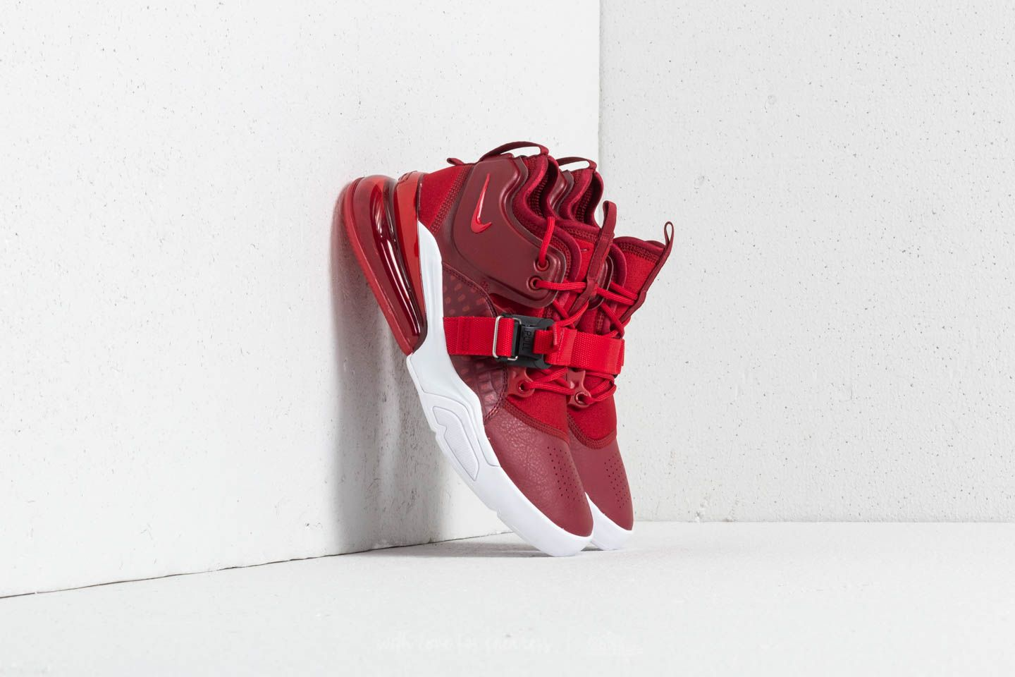 Nike Air Force 270 Team Red Gym Red White | Footshop