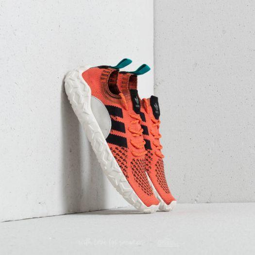 adidas F22 Primeknit Orange Core Black Trace Orange