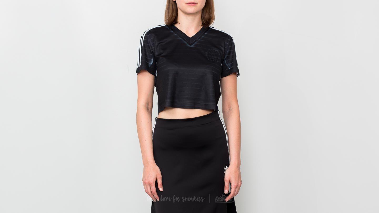 adidas x Alexander Wang Crop Top Black  White  Bold Orange a prezzo  eccezionale 57 437aee3468a9
