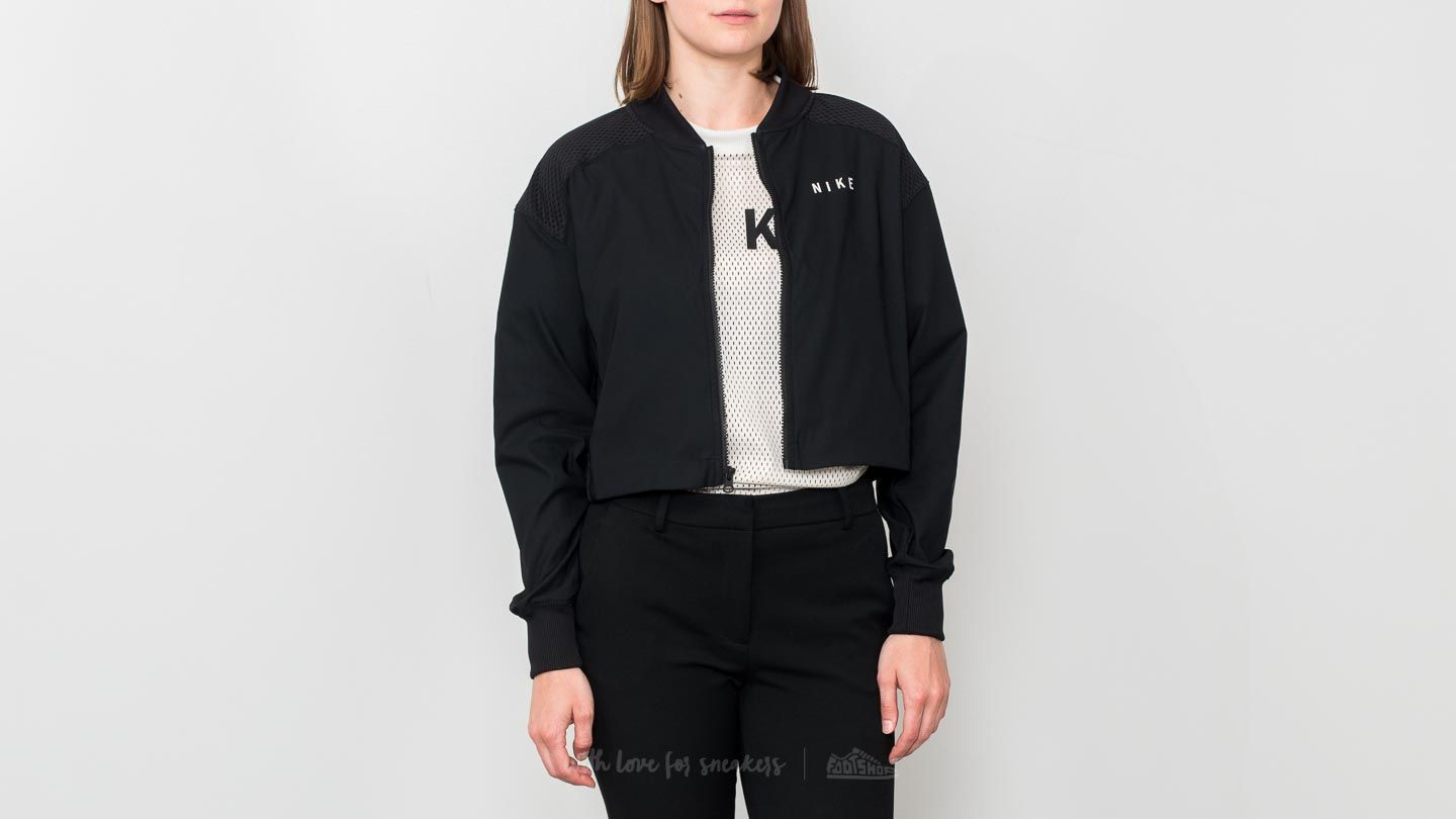 Nike Sportswear Mesh Bomber Jacket Black/ Light Bone
