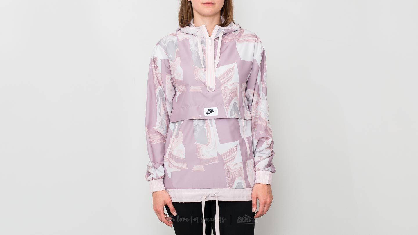 a0569d0470 Nike Sportswear Marble All Over Print Jacket Elemental Rose  Barely Rose