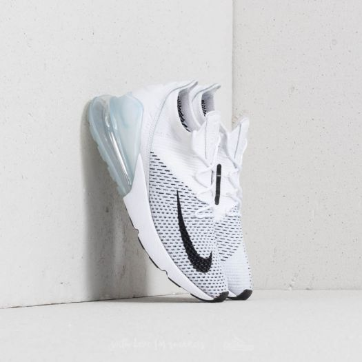 Nike Air Max 270 Flyknit W White Black Pure Platinum | Footshop