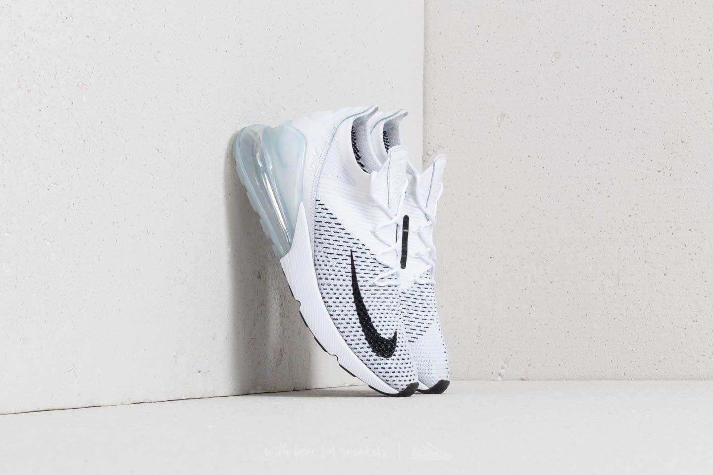 286e00ef84500 Nike Air Max 270 Flyknit W White  Black-Pure Platinum
