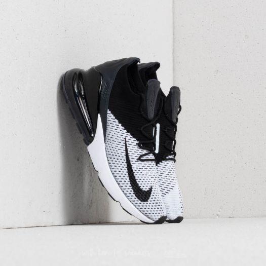 big sale 2e088 58996 Nike Air Max 270 Flyknit White/ Black-Anthracite | Footshop
