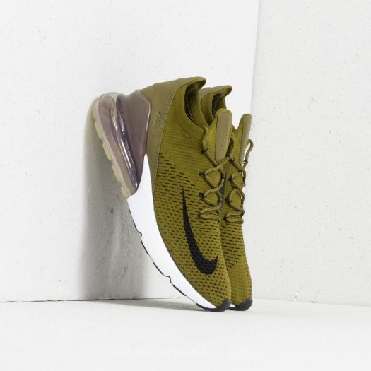 united states various design discount sale Nike Air Max 270 Flyknit Olive Flak/ Black-Sepia Stone ...