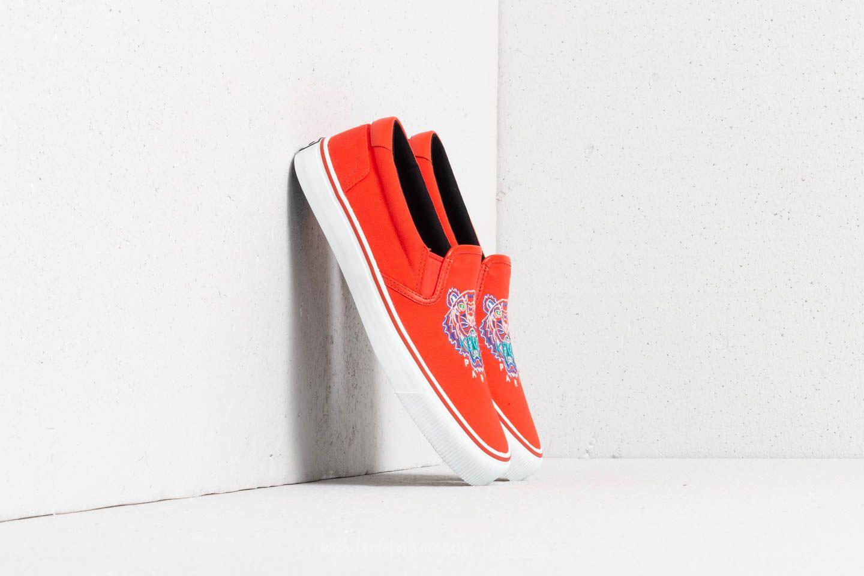 Dámské tenisky a boty Kenzo K-Skate Basket Orange