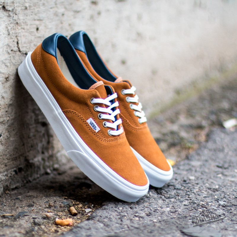 d944014eed8e0a Vans ERA 59 (Suede Leather) Brown Sugar