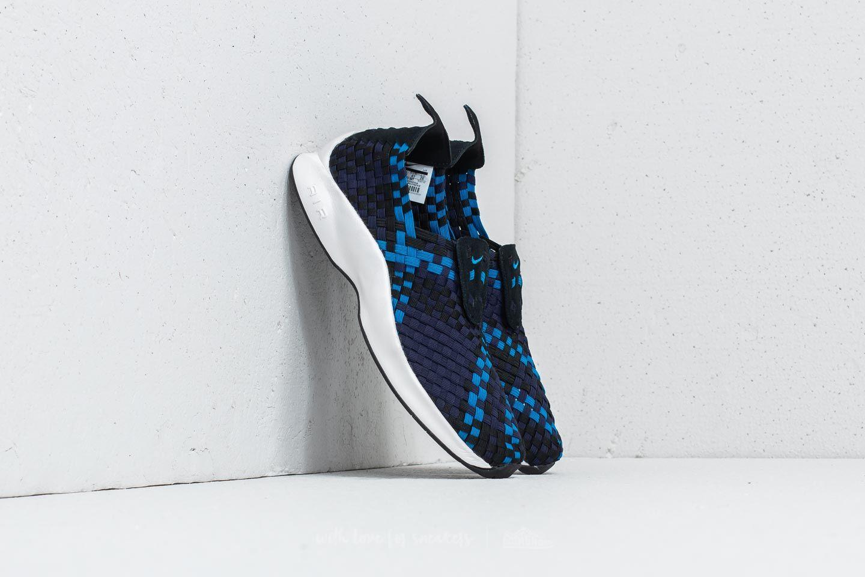 Nike Air Woven Black/ Blue Nebula