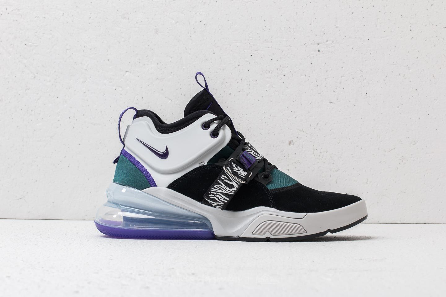 2842d4996f7 Nike Air Force 270 Black  Court Purple at a great price £146 buy at