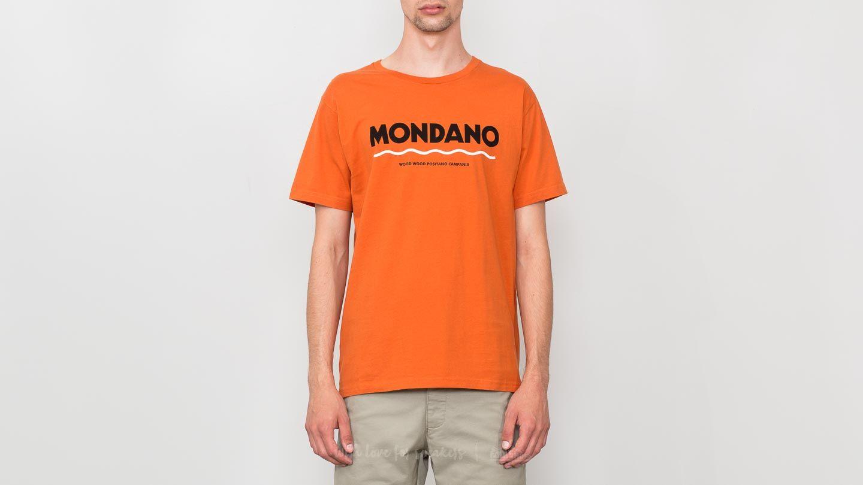 WOOD WOOD Sami T-Shirt Orange