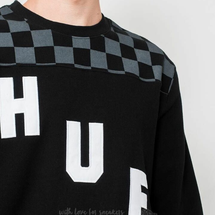 HUF Blackout Crew Black