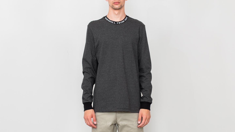HUF Downhill Longsleeve Stripe Sweatshirt Black za skvělou cenu 850 Kč koupíte na Footshop.cz