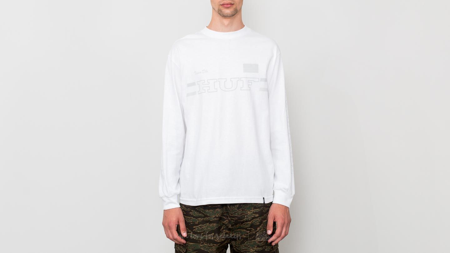 HUF Blackout Team Longsleeve Tee