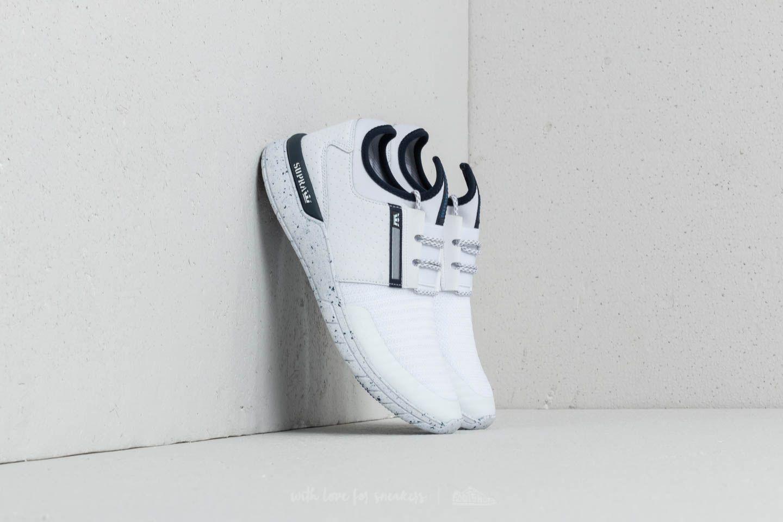 Supra Flow Run White/ Navy-White