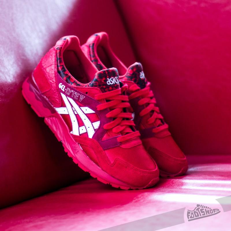 premium selection f6c16 5e4f5 Asics Gel Lyte V Red/White | Footshop