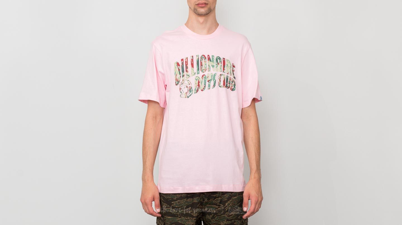Billionaire Boys Club Reflective Lizard Camo Arch Logo T-Shirt Pink ... 5725ed24e