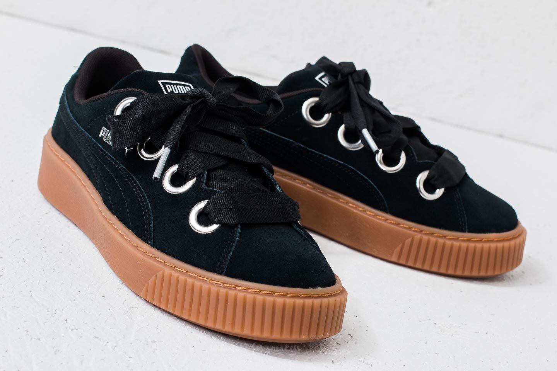 Women's shoes Puma Platform Kiss Suede