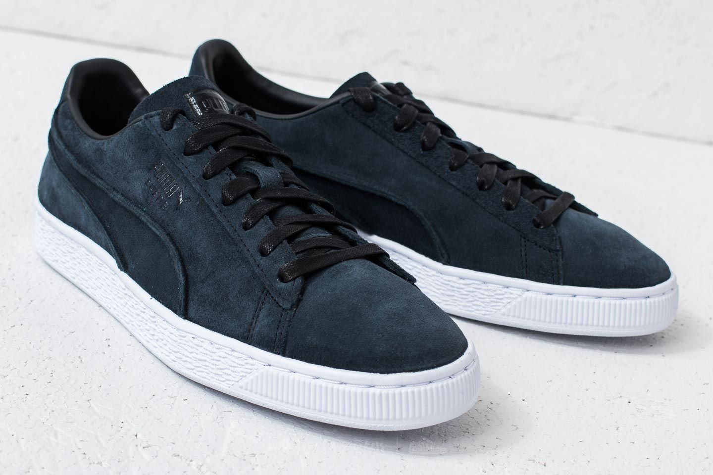 Puma Suede Classic Exposed Seams Puma Black | Footshop