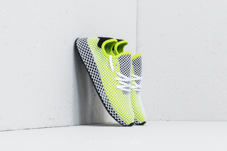 adidas Deerupt Runner Semi Solar SlimeCore BlackCore Black   Footshop