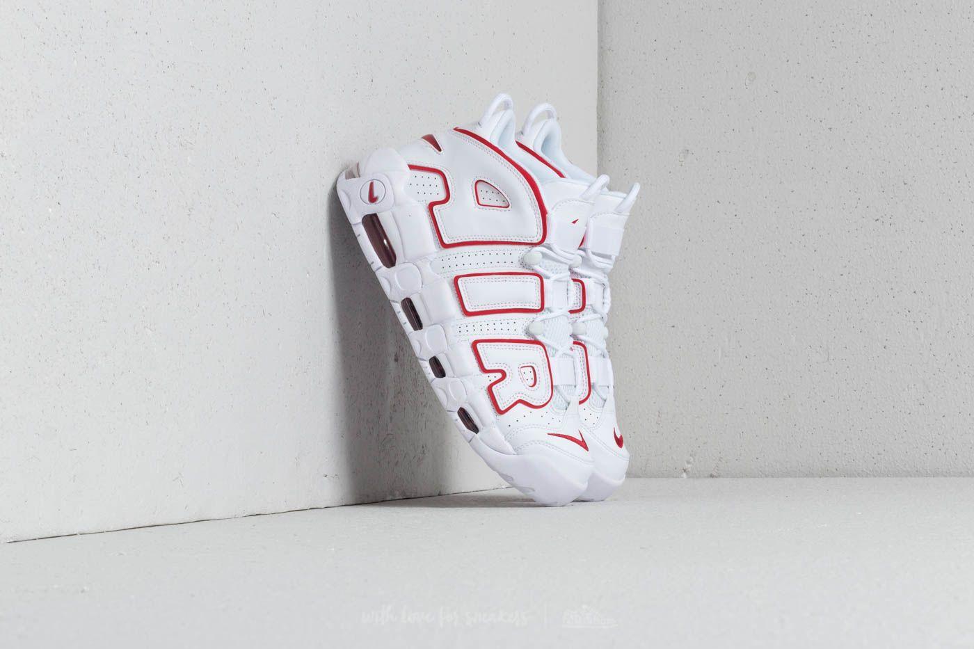 Uptempo '96 White/ Varsity Red-White