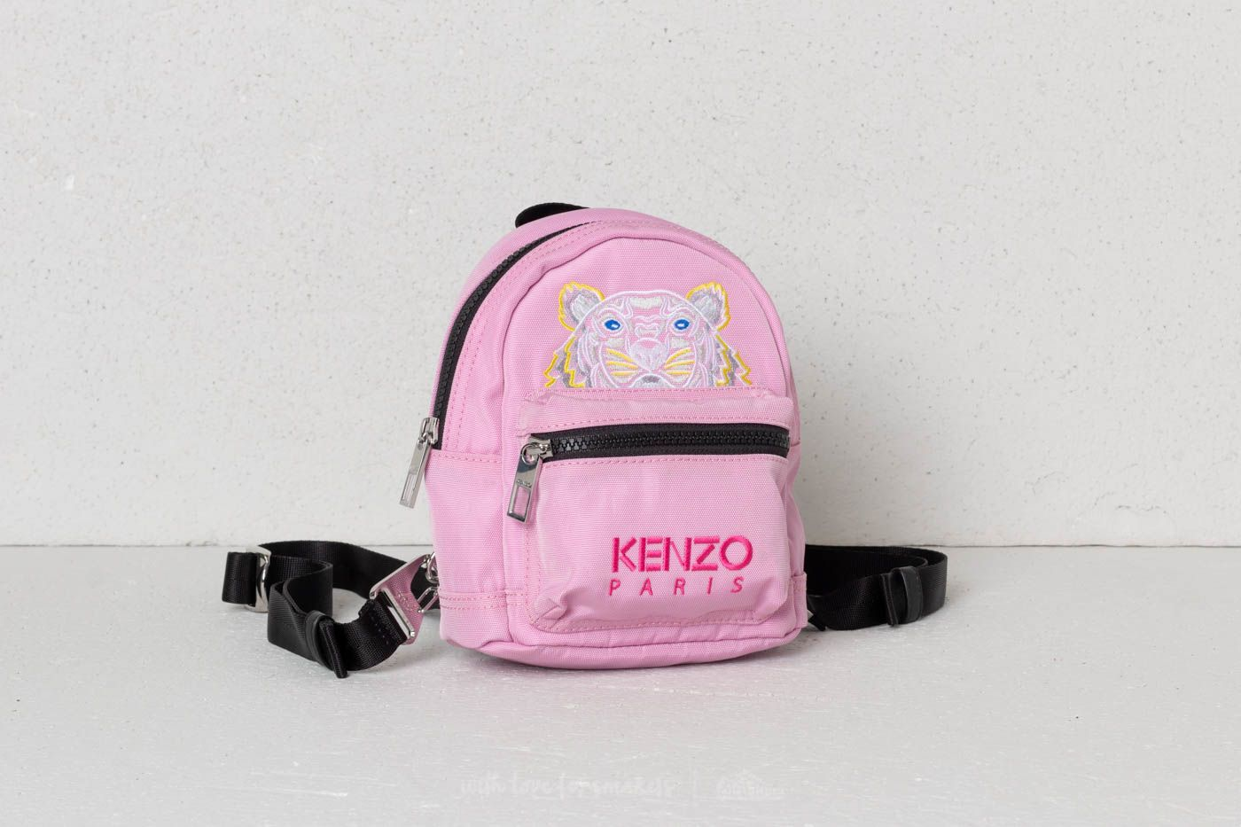 7cc990637 KENZO Mini Tiger Canvas Backpack Flamingo Pink | Footshop