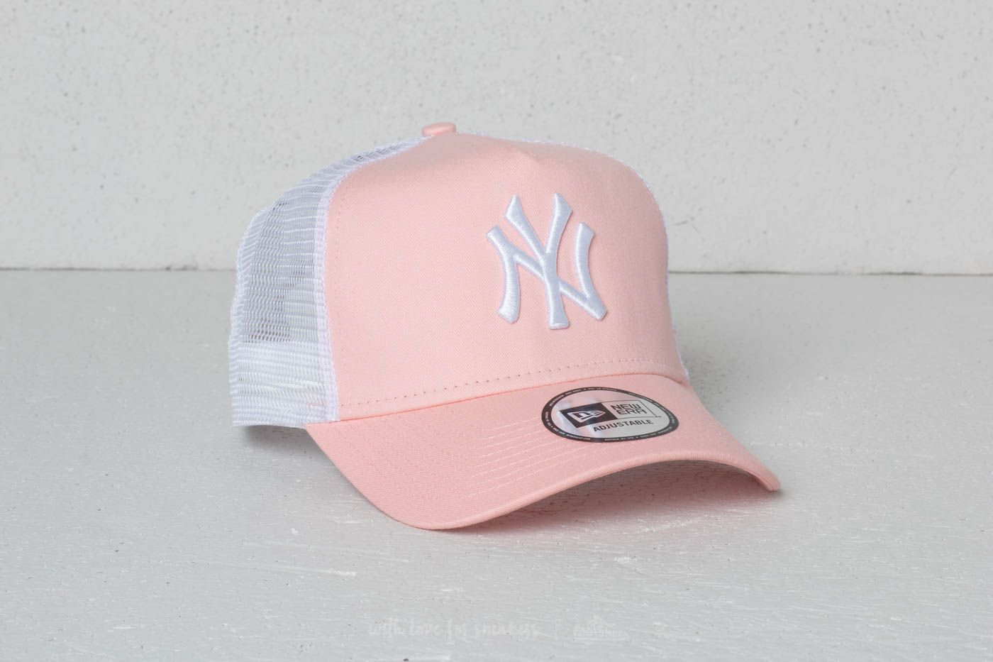 New Era 9Forty MLB League New York Yankees Cap Pink  White ... 4d12cba7821