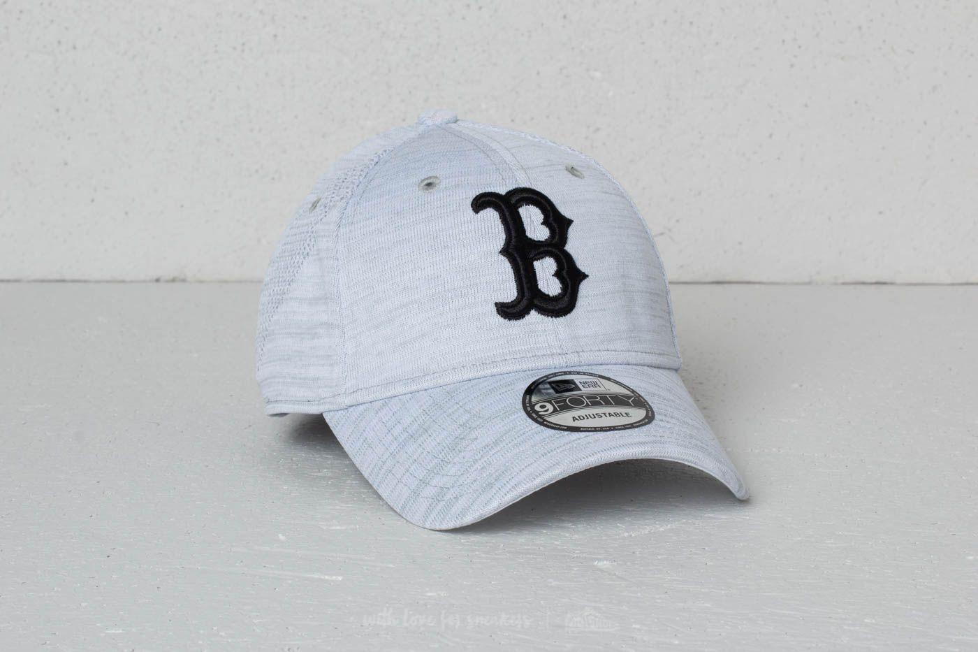 New Era 9Forty MLB Engineered Fit Boston Red Sox Cap Grey Melange