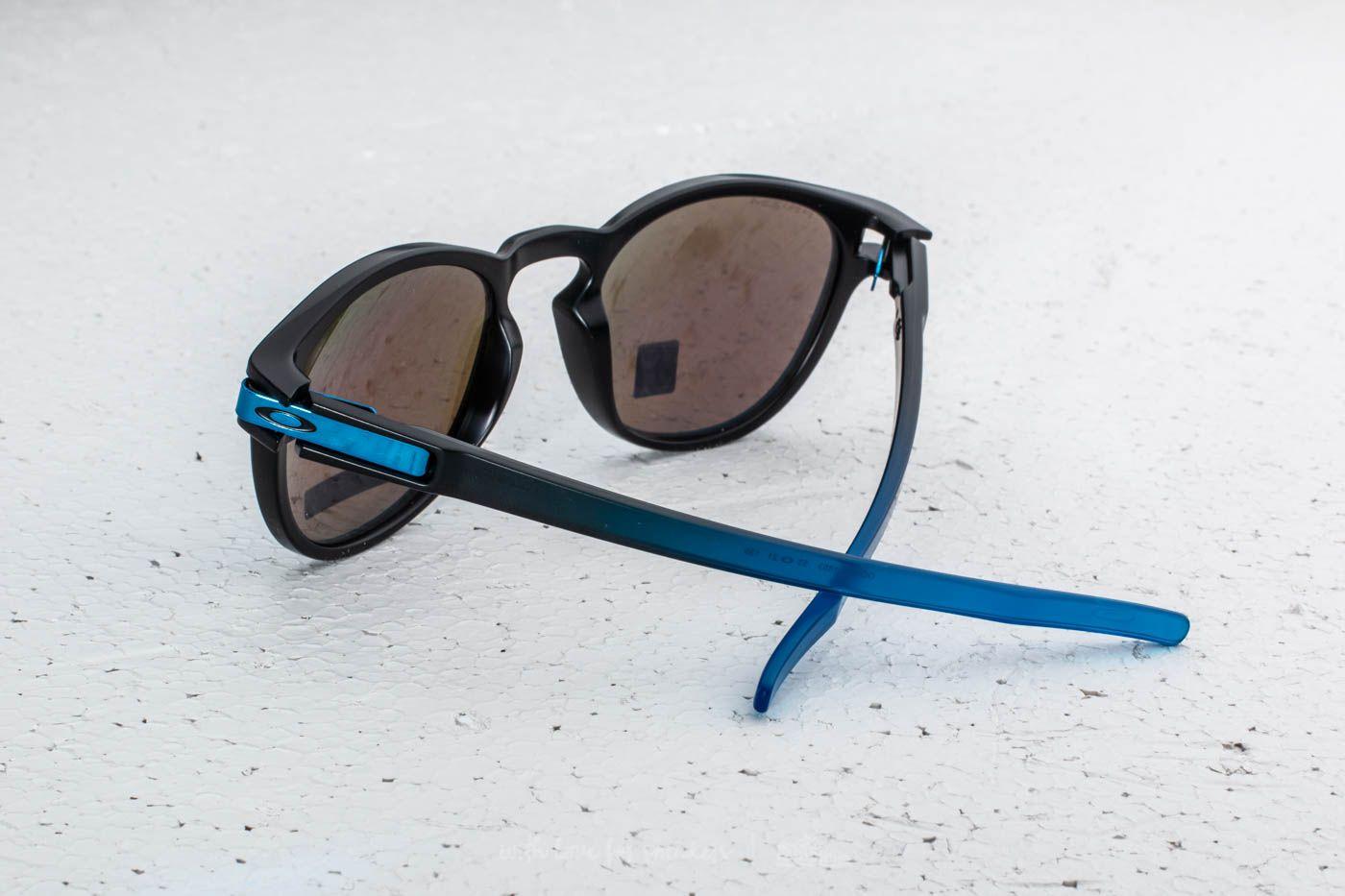 53701c9564182 oakley prizm sapphire Oakley Latch Sunglasses Sapphire Fade  Prizm Sapphire  Polarized .