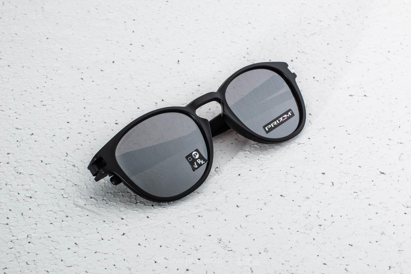 224f27703c Oakley Latch Matte Black  Prizm Black Iridium