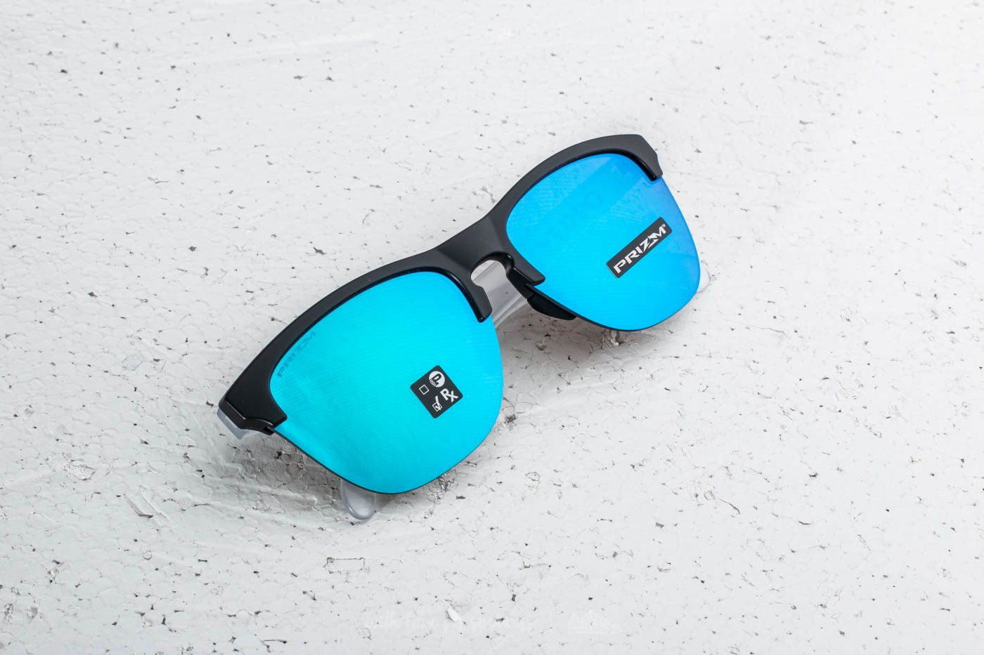 4413f467e2d Oakley Frogskins Lite Matte Black  Matte Clear  Prizm Sapphire Iridium ...