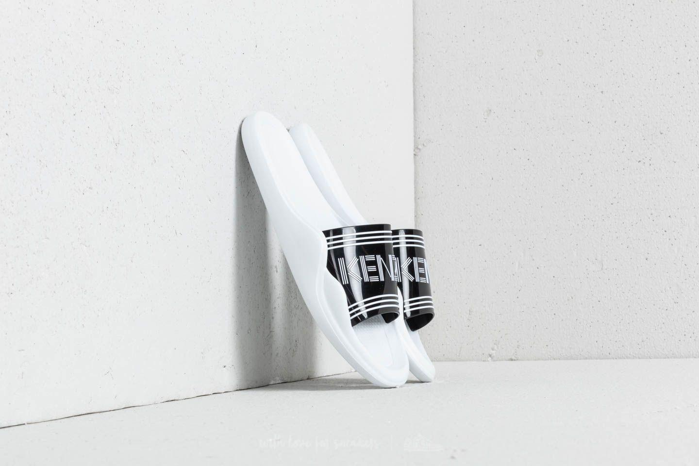 Kenzo Pool Sandal Black/ White za skvělou cenu 2 490 Kč koupíte na Footshop.cz
