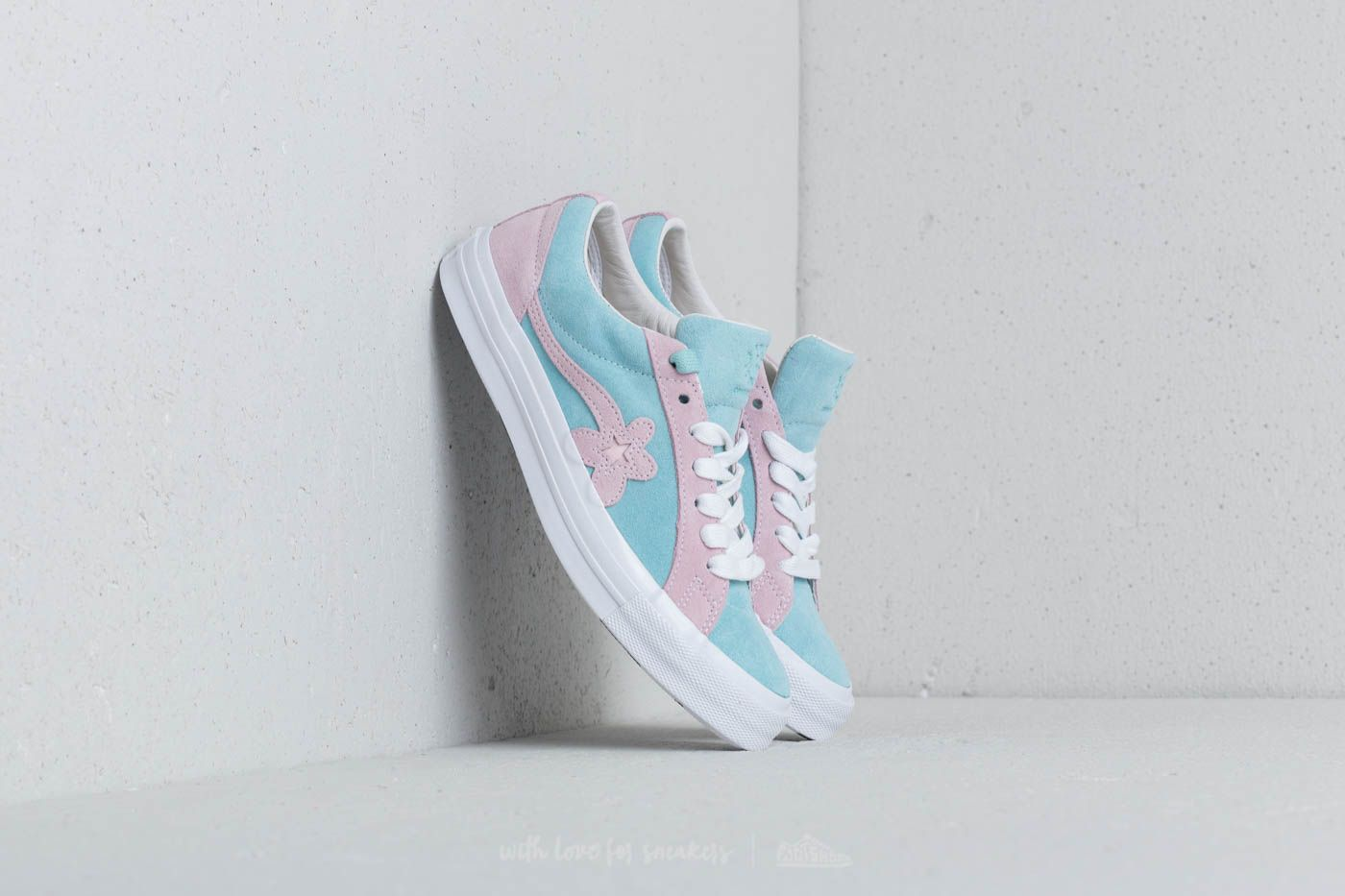 Converse x Tayler The Creator One Star Golf Le Fleur OX Plume Pink Marshmellow White   Footshop