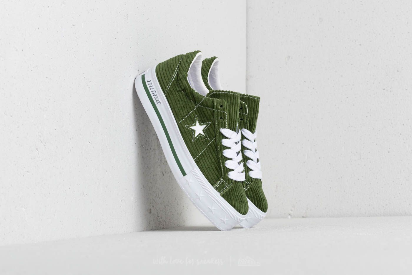 Converse x Mademe One Star Platform OX Garden Green at a great price 70 €  buy 50171246f