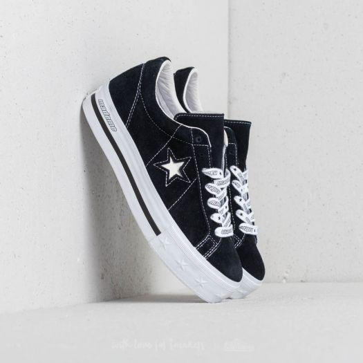 converse one star plateforme