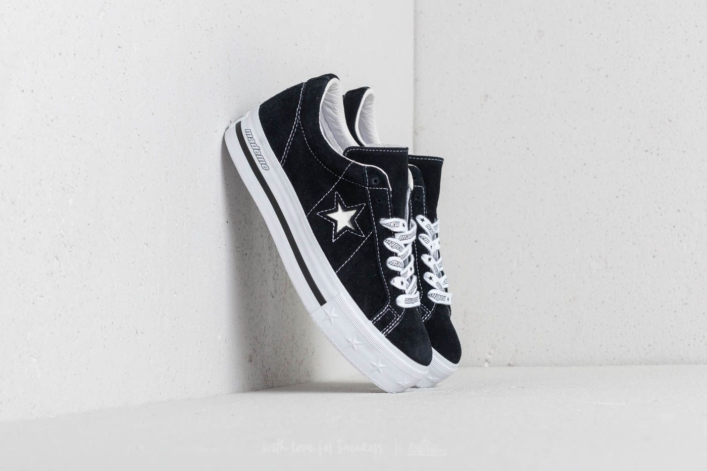 Converse x Mademe One Star Platform OX Black