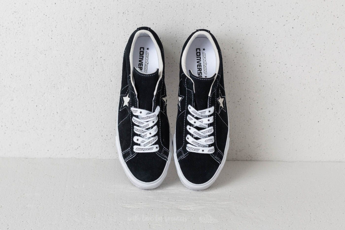 Converse x Mademe One Star Platform OX Black | Footshop