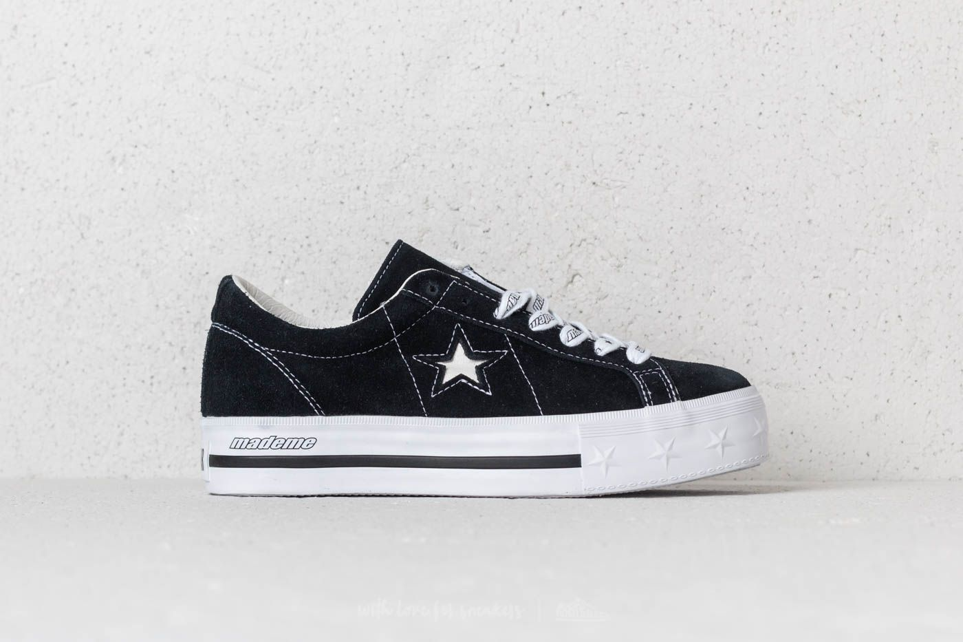 64bdaed8ca94b3 Converse x Mademe One Star Platform OX Black at a great price 69 € buy at