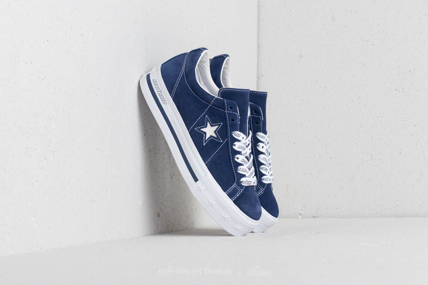 e53dc0757fe Converse x Mademe One Star Platform OX Medieval Blue at a great price 70 €  buy