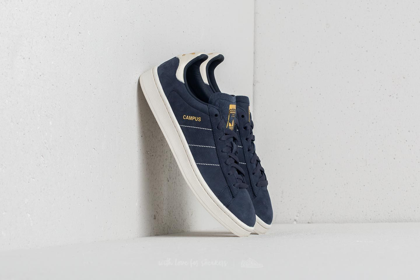 premium selection ae375 bf846 adidas Campus Trace Blue Chalk White Gold Metallic at a great price 84 €
