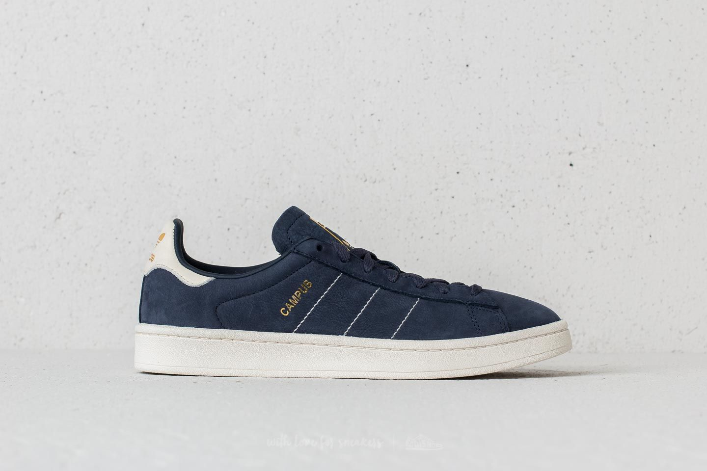 c66129ecf80628 adidas Campus Trace Blue  Chalk White  Gold Metallic at a great price 84 €