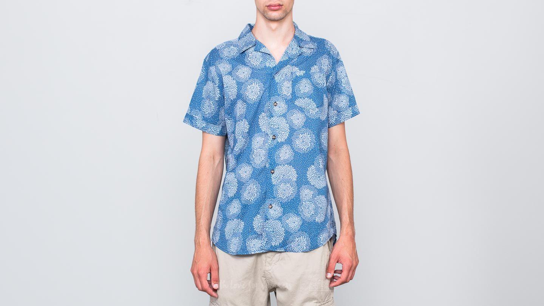 SELECTED Two Flash Shortsleeve Shirt Dark Sapphire