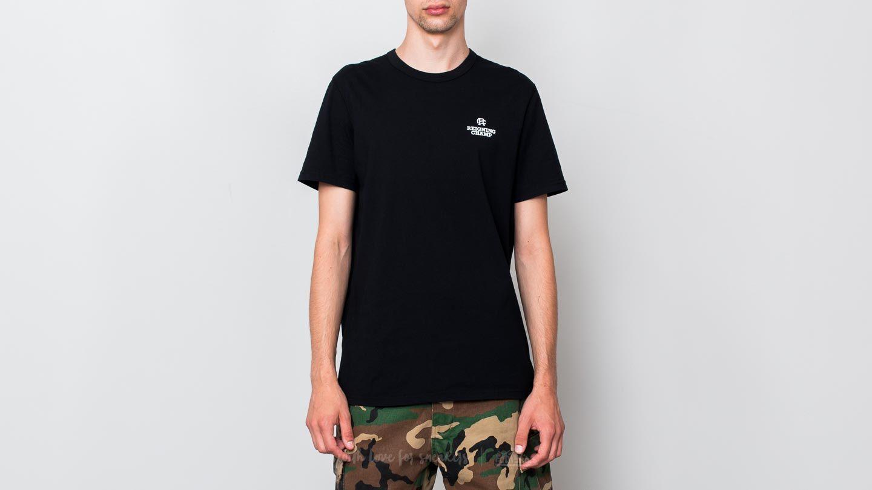 Reigning Champ Logo T-Shirt Black/ White