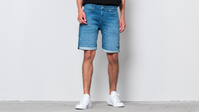 SELECTED Lucas Denim Shorts Light Blue