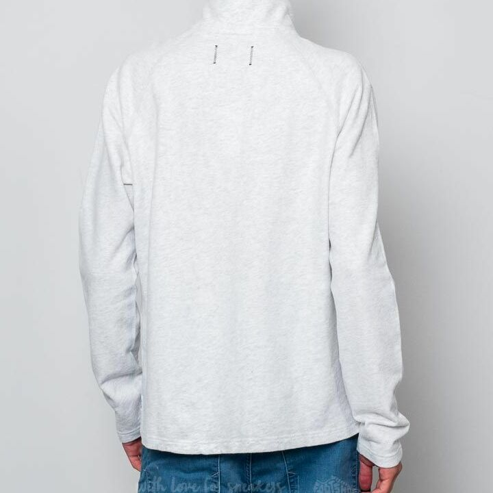 Reigning Champ Terry Half Zip Pullover Heather Ash, Gray