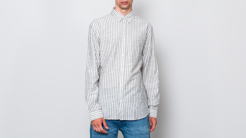 SELECTED Two William Stripe Longsleeve Shirt White za skvělou cenu 310 Kč koupíte na Footshop.cz