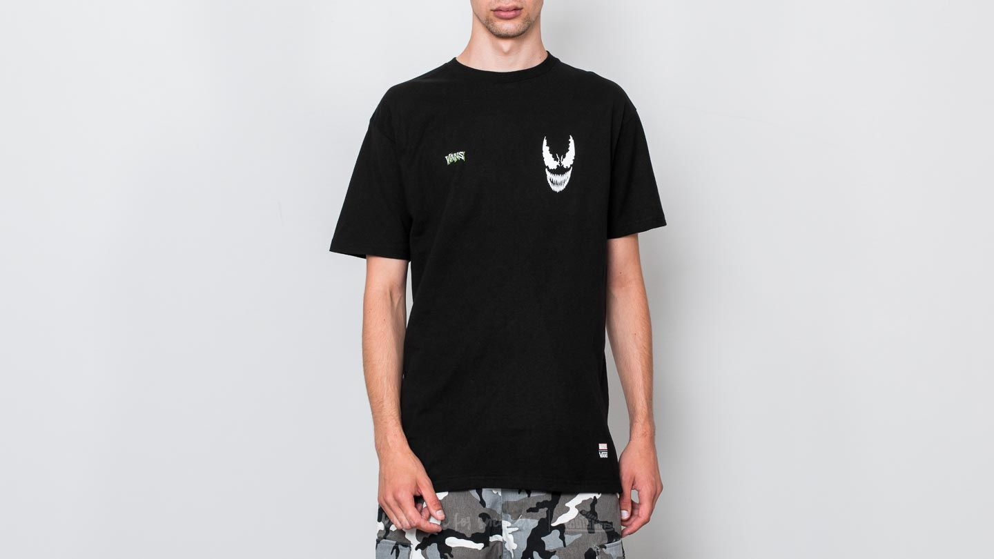 Vans Venom Tee (Marvel) Black | Footshop