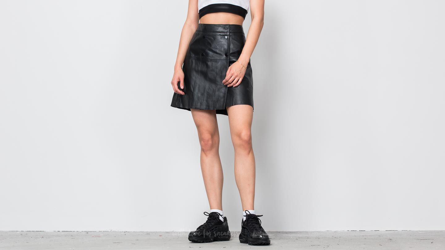 SELECTED Zadig Lamb Leather Skirt