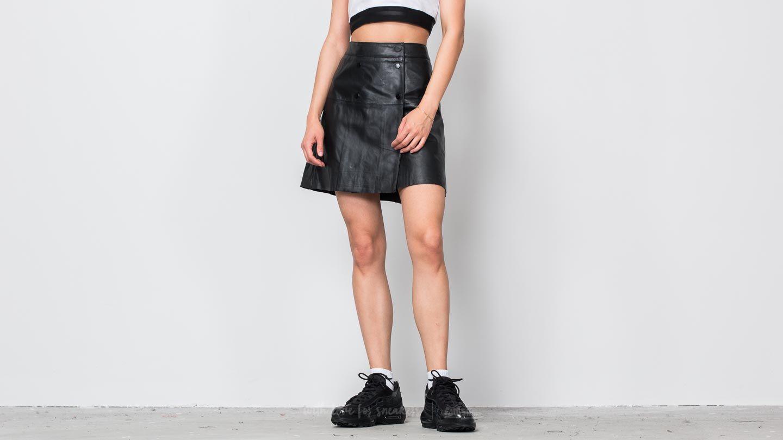 SELECTED Zadig Lamb Leather Skirt Black za skvělou cenu 1 500 Kč koupíte na Footshop.cz