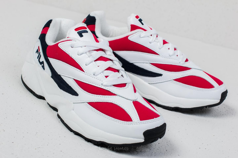 Fila Venom Low White/ Fila Navy/ Fila Red | Footshop
